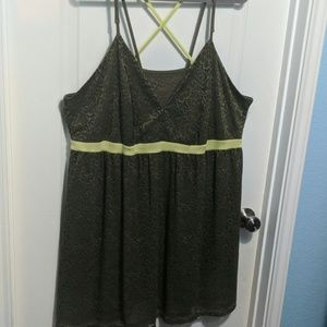 Lane Bryant/Cacique  Green nightie